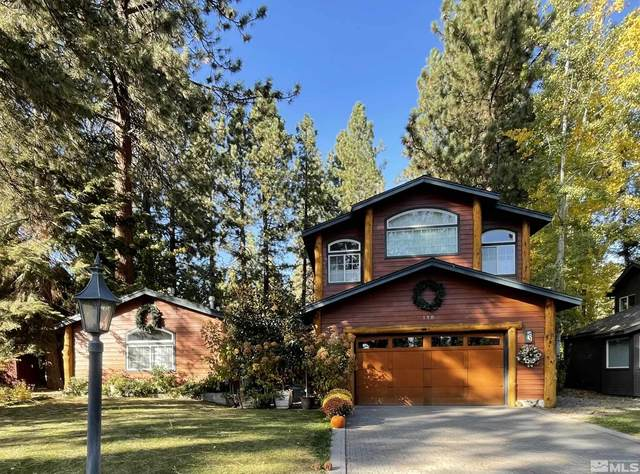 118 Willow Drive, Zephyr Cove, NV 89448 (MLS #210015385) :: Chase International Real Estate