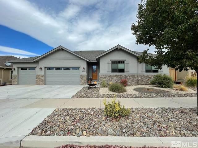 1300 Cedar Creek Circle, Gardnerville, NV 89460 (MLS #210015489) :: NVGemme Real Estate