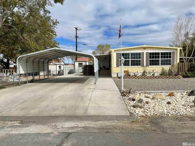 834 K St, Hawthorne, NV 89415 (MLS #210015513) :: NVGemme Real Estate