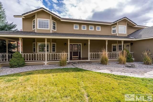 325 Sanctuary Way, Washoe Valley, NV 89704 (MLS #210015942) :: NVGemme Real Estate