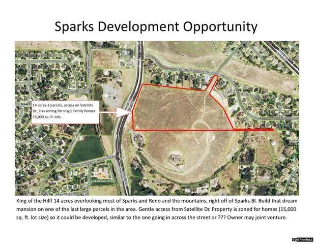 0 Satellite Dr., Sparks, NV 89434 (MLS #170012913) :: Vaulet Group Real Estate