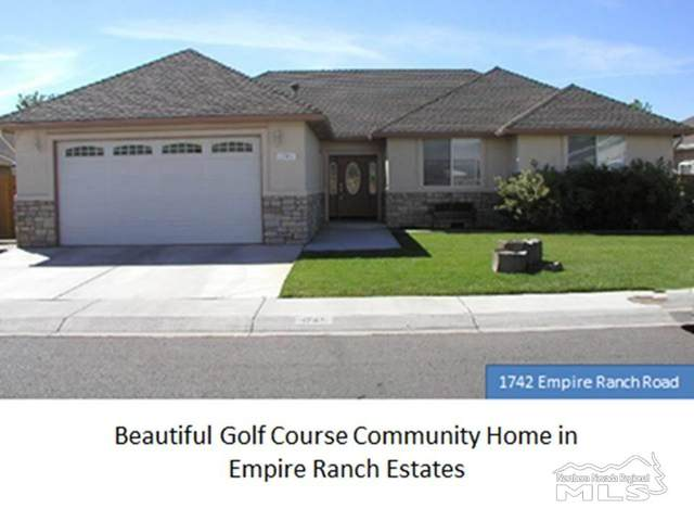 1742 Empire Ranch Road, Carson City, NV 89701 (MLS #200011698) :: The Mike Wood Team