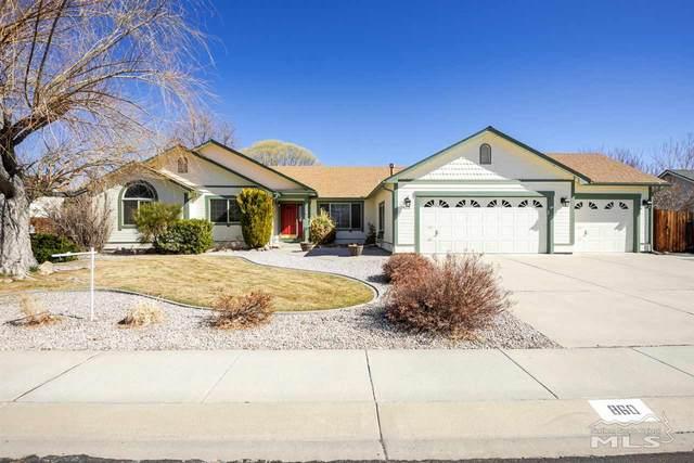 860 Mahogany Dr, Minden, NV 89423 (MLS #210002461) :: NVGemme Real Estate