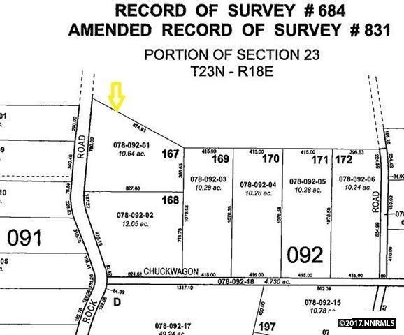 14580 Red Rock Road, Reno, NV 89508 (MLS #170014114) :: Chase International Real Estate