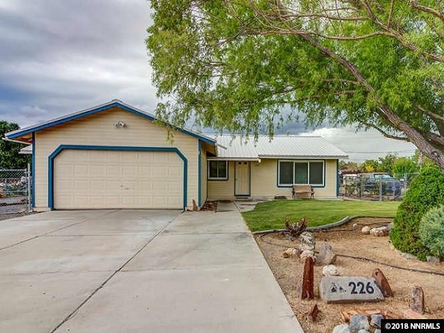 226 Ring Rd, Dayton, NV 89403 (MLS #180006714) :: Chase International Real Estate