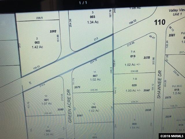 3570 Shawnee Drive, Minden, NV 89705 (MLS #180016630) :: NVGemme Real Estate