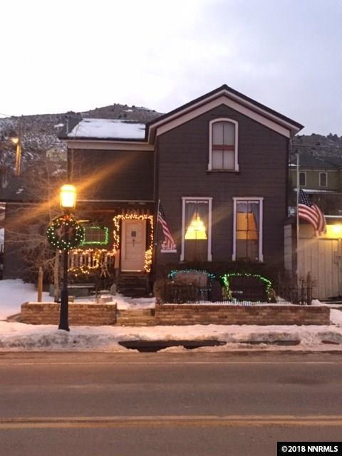 208 N C Street, Virginia City, NV 89440 (MLS #180017936) :: NVGemme Real Estate