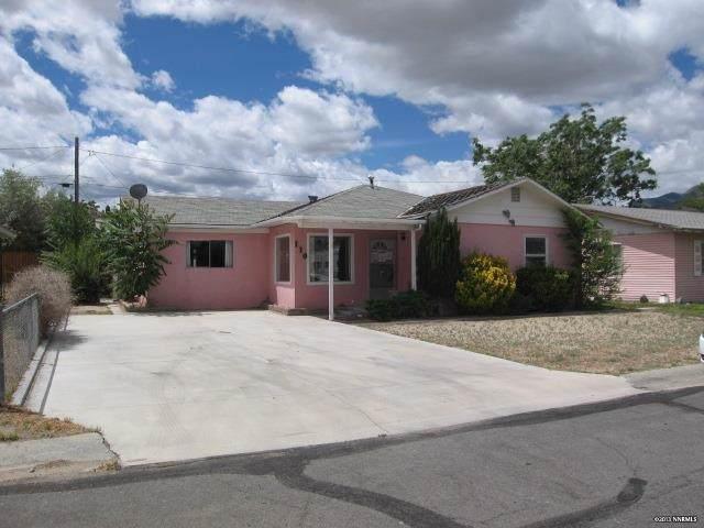 110 W 4th St, Hawthorne, NV 89415 (MLS #190015010) :: NVGemme Real Estate