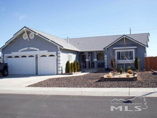 609 Wedge Lane, Fernley, NV 89408 (MLS #200003722) :: Harcourts NV1