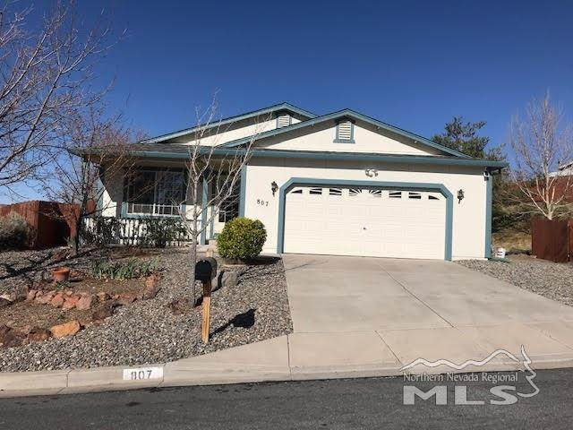 807 Tradewinds, Sun Valley, NV 89433 (MLS #210005109) :: Morales Hall Group