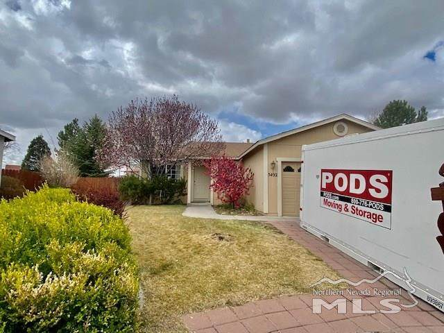 5492 Breeze Ct, Sun Valley, NV 89433 (MLS #210005186) :: Morales Hall Group