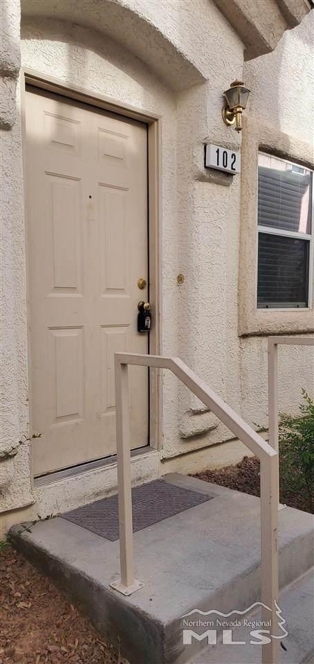 8816 Roping Rodeo Ave #102, Las Vegas, NV 89178 (MLS #210006684) :: Vaulet Group Real Estate