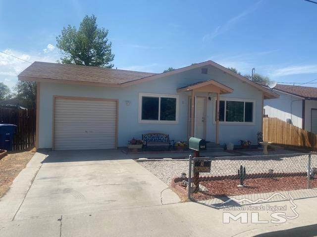 514 Cleveland Street, Fallon, NV 89406 (MLS #210011404) :: Vaulet Group Real Estate