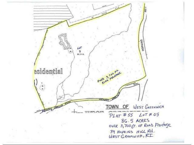 39 Hopkins Hill Rd, West Greenwich, RI 02817 (MLS #1121052) :: Westcott Properties