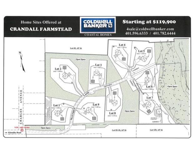 0 - Lot 5 Matthius Lane, Charlestown, RI 02813 (MLS #1181074) :: Westcott Properties