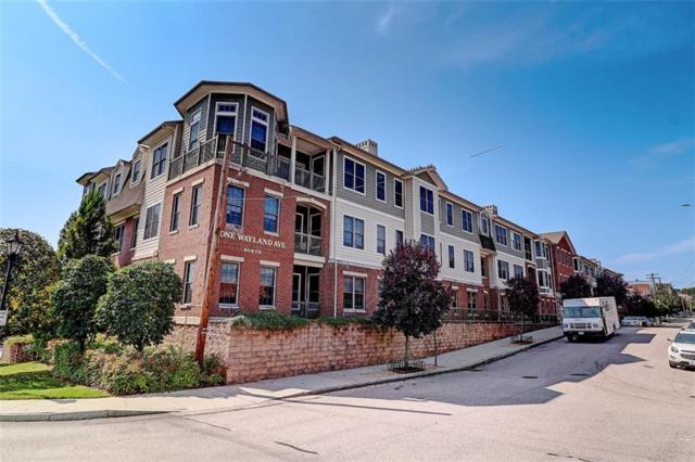 1 Wayland Av, Unit#309N 309N, East Side Of Prov, RI 02906 (MLS #1194254) :: The Goss Team at RE/MAX Properties