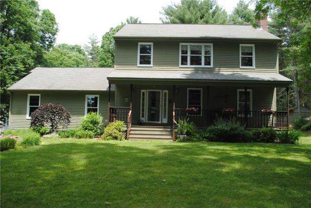 141 Jackson School House Rd, Glocester, RI 02814 (MLS #1195533) :: The Martone Group