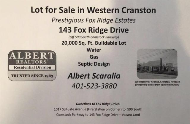 143 Fox Ridge Dr, Cranston, RI 02921 (MLS #1207317) :: Albert Realtors