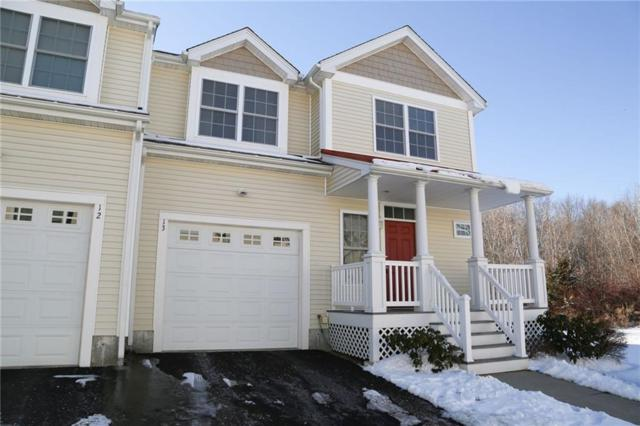 164 Bear Hill Rd, Unit#13 #13, Cumberland, RI 02864 (MLS #1215828) :: The Martone Group