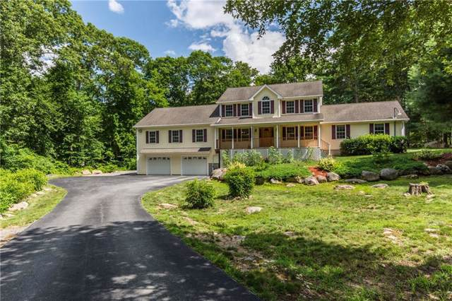 342 Fry Pond Road, West Greenwich, RI 02817 (MLS #1230555) :: The Martone Group
