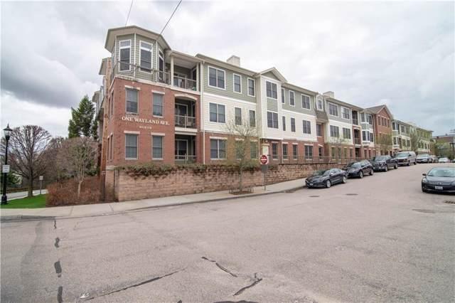 1 Wayland Avenue 103N, Providence, RI 02906 (MLS #1231919) :: Edge Realty RI