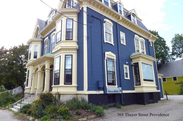 368 Thayer Street #3, East Side of Providence, RI 02906 (MLS #1234583) :: The Martone Group