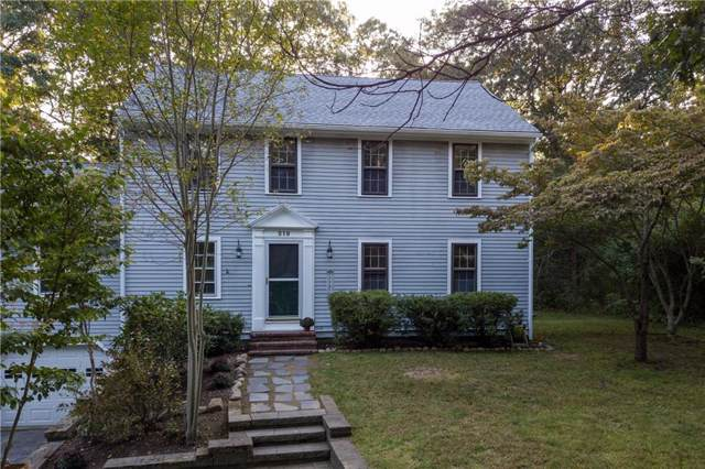 219 Pinecrest Drive, North Kingstown, RI 02852 (MLS #1237537) :: The Martone Group