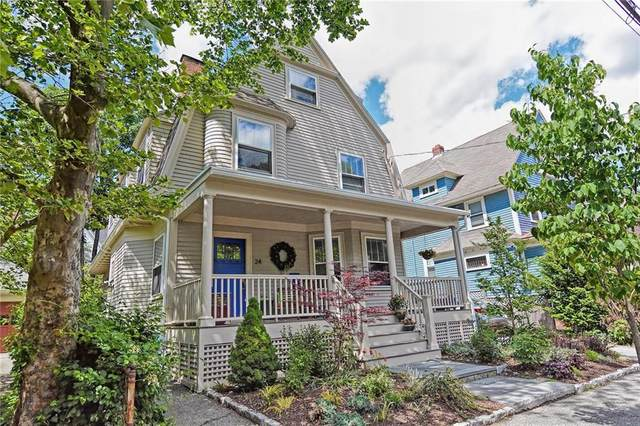 24 Rhode Island Avenue, East Side of Providence, RI 02906 (MLS #1255361) :: The Martone Group