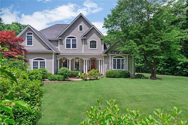 48 Teaberry Drive, Glocester, RI 02814 (MLS #1257542) :: The Martone Group