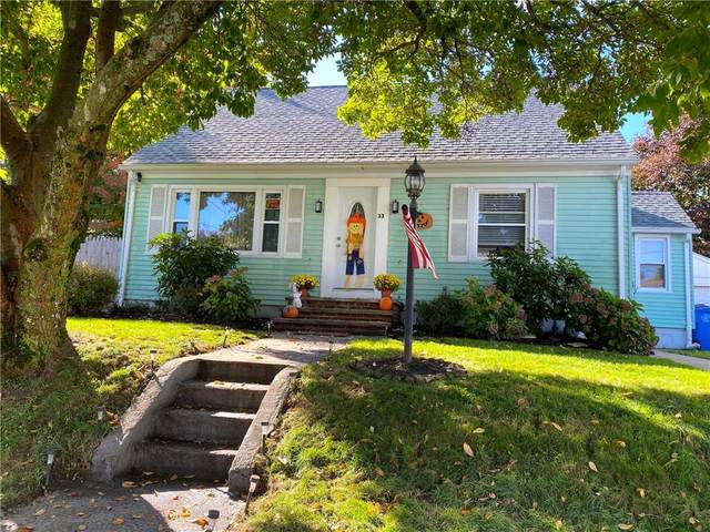 33 Clark Avenue, Cranston, RI 02920 (MLS #1267916) :: The Martone Group