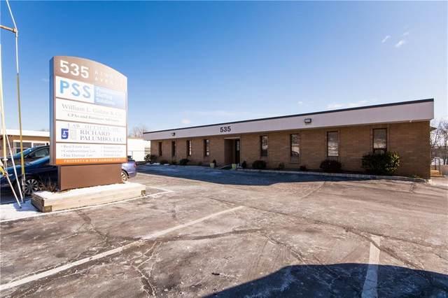 535 Atwood Avenue #4, Cranston, RI 02920 (MLS #1274436) :: Welchman Real Estate Group