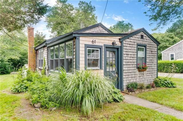 61 Maplehurst Drive, Narragansett, RI 02882 (MLS #1290492) :: Alex Parmenidez Group