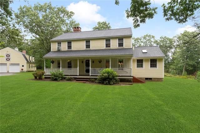 52 Deerfield Drive, Scituate, RI 02857 (MLS #1292171) :: Spectrum Real Estate Consultants