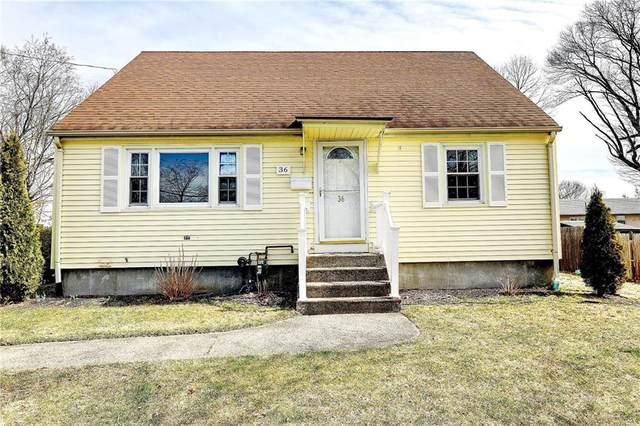 36 Newwood Drive, Cranston, RI 02920 (MLS #1248375) :: The Martone Group