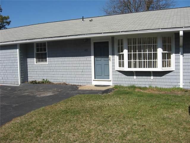 4 North Castle Way B, Charlestown, RI 02813 (MLS #1248390) :: The Mercurio Group Real Estate