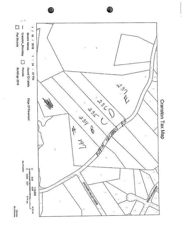 0 Pippin Orchard Rd, Cranston, RI 02921 (MLS #1184475) :: Westcott Properties