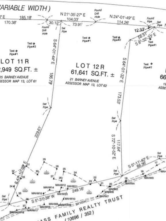 21 Barney Avenue, Rehoboth, MA 02769 (MLS #1276133) :: Spectrum Real Estate Consultants
