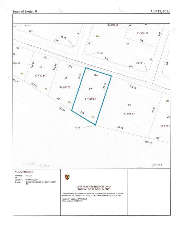 0 Oakhill Drive, Exeter, RI 02822 (MLS #1280048) :: Nicholas Taylor Real Estate Group