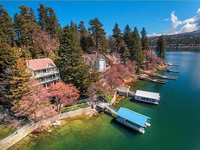 28001 Peninsula Drive, Lake Arrowhead, CA 92352 (#2180006) :: Angelique Koster