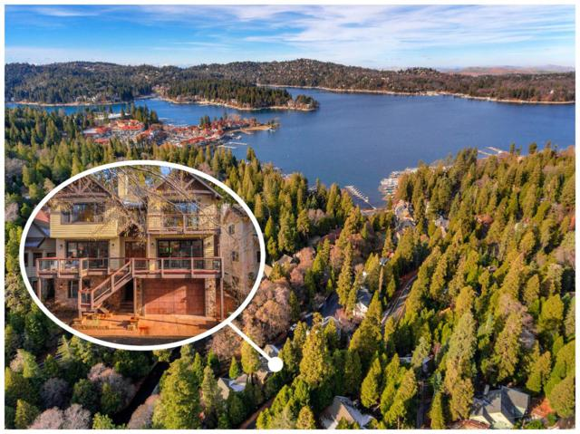 321 Garden Drive, Lake Arrowhead, CA 92352 (#2180058) :: Angelique Koster