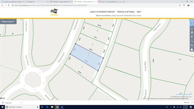 Lot 2 Spring Creek Drive NE, Cleveland, TN 37312 (MLS #20193257) :: The Mark Hite Team
