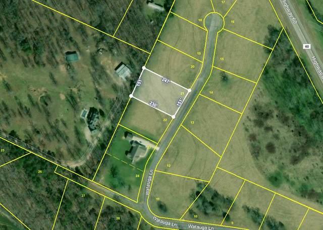 Lot 21 Wautauga Lane, Birchwood, TN 37308 (MLS #20205595) :: The Mark Hite Team