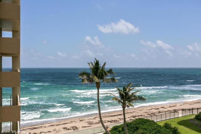 5440 N Ocean Drive #505, Singer Island, FL 33404 (#RX-10336564) :: Ryan Jennings Group