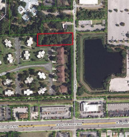 Lot Knuth Road, Boynton Beach, FL 33436 (#RX-10258697) :: Ryan Jennings Group