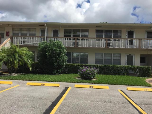43 Cambridge B #43, West Palm Beach, FL 33417 (#RX-10346371) :: Ryan Jennings Group