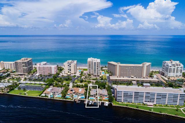 3012 S Ocean C, Highland Beach, FL 33487 (#RX-10351903) :: Keller Williams