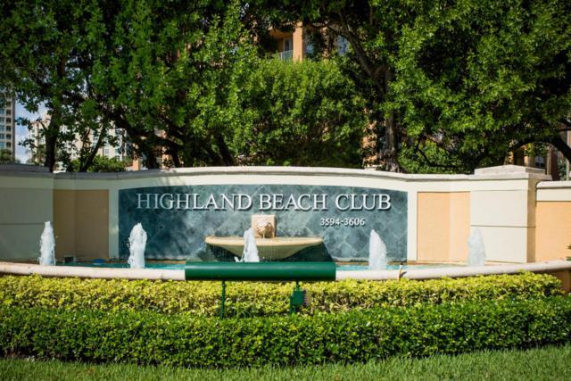 3594 S Ocean Boulevard #207, Highland Beach, FL 33487 (#RX-10352154) :: Keller Williams
