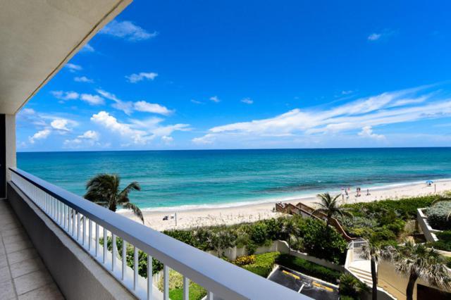 5540 N Ocean Drive 4B, Singer Island, FL 33404 (#RX-10352186) :: Keller Williams
