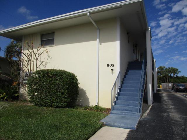 805 Hummingbird Way 6D, North Palm Beach, FL 33408 (#RX-10358927) :: The Carl Rizzuto Sales Team
