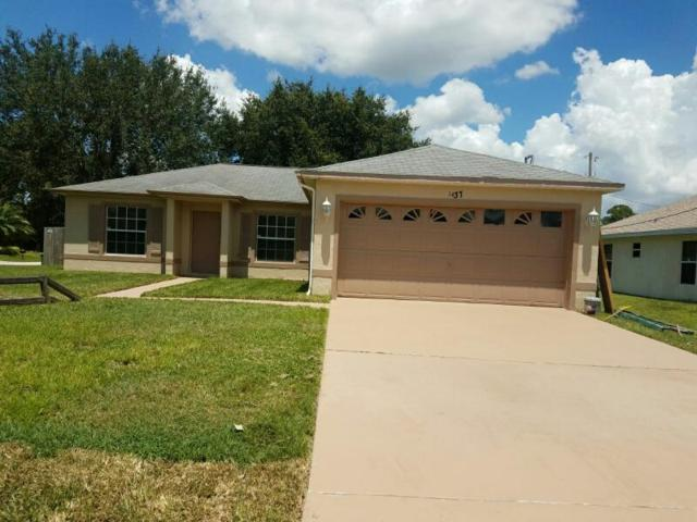 1437 SW Bartell Avenue, Port Saint Lucie, FL 34953 (#RX-10360262) :: The Carl Rizzuto Sales Team